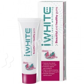 iWHITE Instant Teeth Whitening Beautiful and Healthy Gums Toothpaste